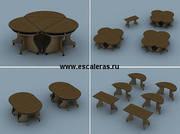 Уникальные учебно-офисные модульные столы