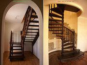 Лестницы интерьерные и наружные в Уфе